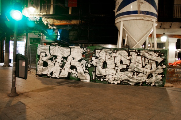 Croaks BEter graffiti Valladolid