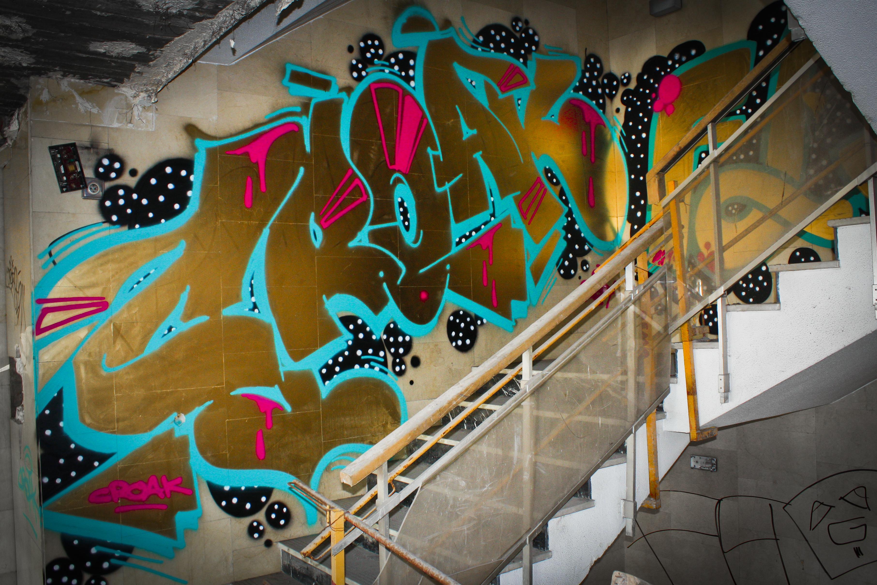 Graffiti | Croak Santana
